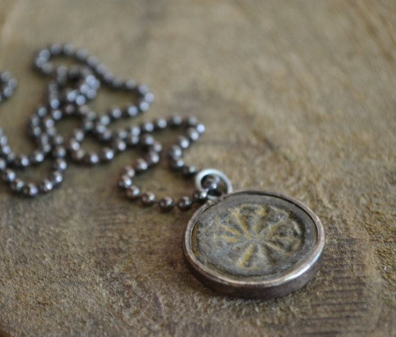 Men's Style Necklace Medallion Necklace For Men by MANLYandRUGGED