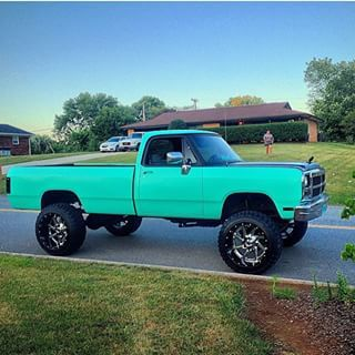 light blue first gen cummins - Google Search