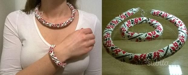 Collana fatta a mano - Abbigliamento e Accessori In vendita a Roma