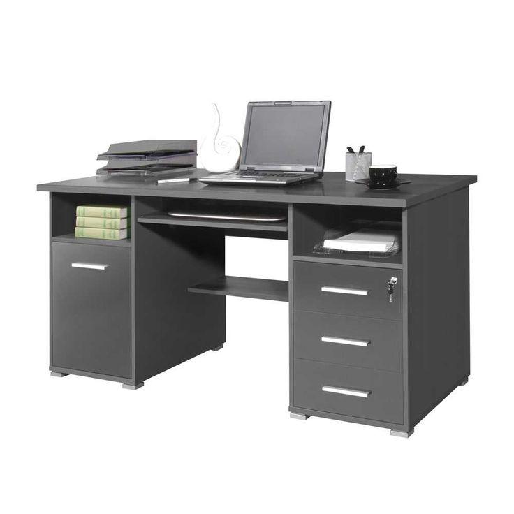 PC Schreibtisch In Grau Tastaturauszug Jetzt Bestellen Unter:  Https://moebel.ladendirekt.de/buero/tische/schreibtische/?uidu003df79c9255 0c1b 526b B587   ...