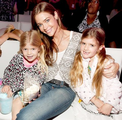 Denise Richards Sues Ex Charlie Sheen, Claims He Threatened Her and Kids - Us Weekly