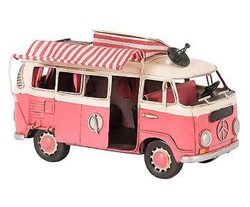 Adorno Automóvel Delux Bus 1966 Listret - 25cm