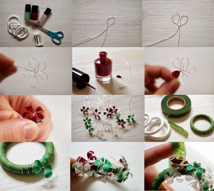 die besten 25 nagellack blumen ideen auf pinterest blumen aus draht nagellack stifte und. Black Bedroom Furniture Sets. Home Design Ideas