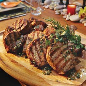 Outdoor Mexican Grill Party  | Mixed Grill With Cilantro Pesto | MyRecipes.com