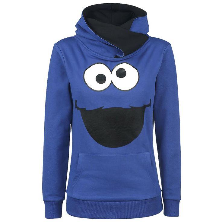 Sesame Street  Kapuzenpullover  »Monster« | Jetzt bei EMP kaufen | Mehr Fan-Merch  Kapuzenpullover  online verfügbar ✓ Unschlagbar günstig!