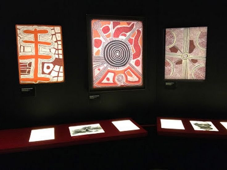 """Exposition """"Mémoires Vives : une histoire de l'art Aborigène"""" - Bordeaux 2013 #museedaquitaine #bordeaux #artaborigene #australie #Aboriginal"""