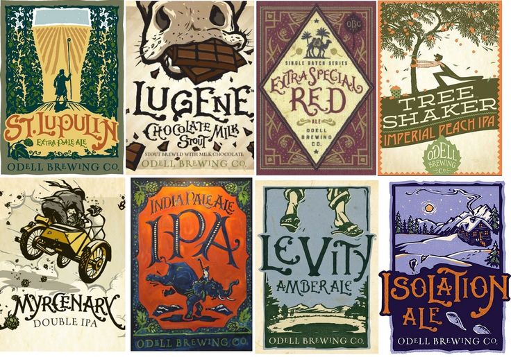 Design Notebook: Craft Beer Label Artwork | Neeland Cottage