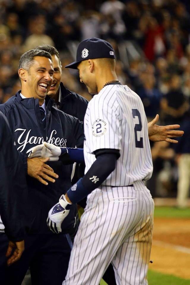 Derek Jeter final game Yankee Stadium. Sept 25th 2014