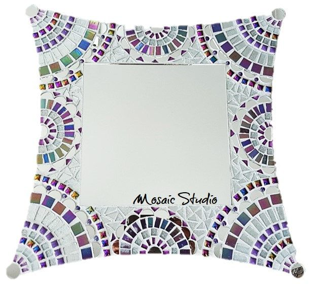 Mosaic Victorian Chic Mirror Kit-Set by MosaicStudio1 on Etsy