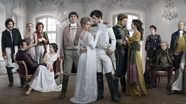 BBC - War And Peace - Superb drama & the sound track is so haunting and moving. You will shed a tear at the end ...