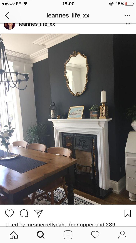 Victorian Dusk Valspar In 2019 Living Room Designs Home