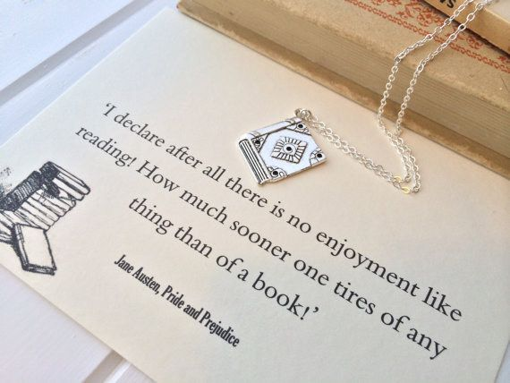 Jane Austen | 16 Stunning Minimalist Necklaces Inspired By Famous Authors