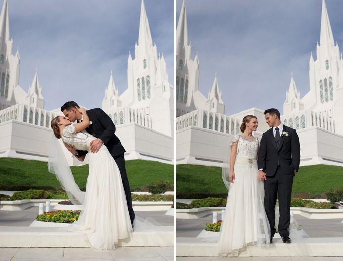 San Diego Mormon Temple Wedding