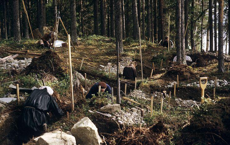 https://flic.kr/p/rvYgAG | Archaeological excavation, Lemnäset, Lesjön…