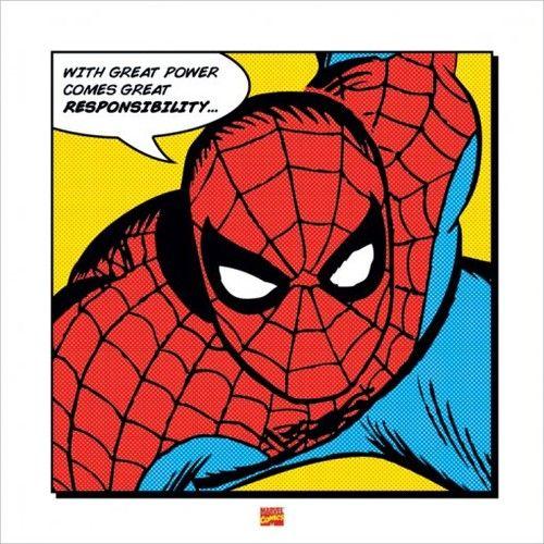 Superhero Art- Spiderman