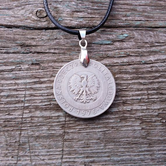 Coin necklace. Poland 20 Zlotych 1976. Coin. от JewelryForYourself