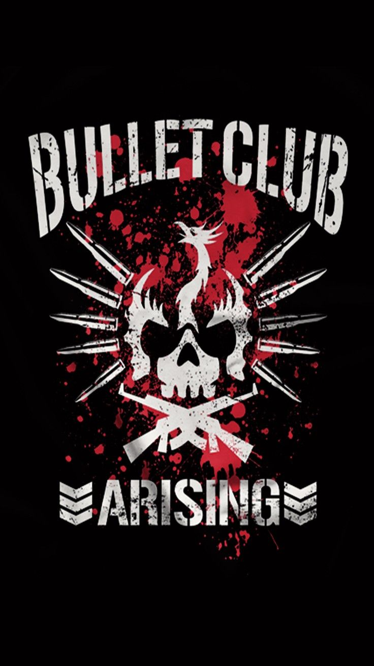 Pin By 란스 Lance On Bullet Club Bullet Club Logo Gym Quote Njpw
