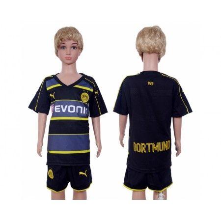 #BVB Borussia Dortmund Trøje Børn 16-17 Udebanesæt Kort ærmer.199,62KR.shirtshopservice@gmail.com