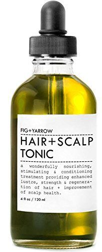 FIG+YARROW Organic Hair + Scalp Tonic - 4oz - http://essential-organic.com/figyarrow-organic-hair-scalp-tonic-4oz/