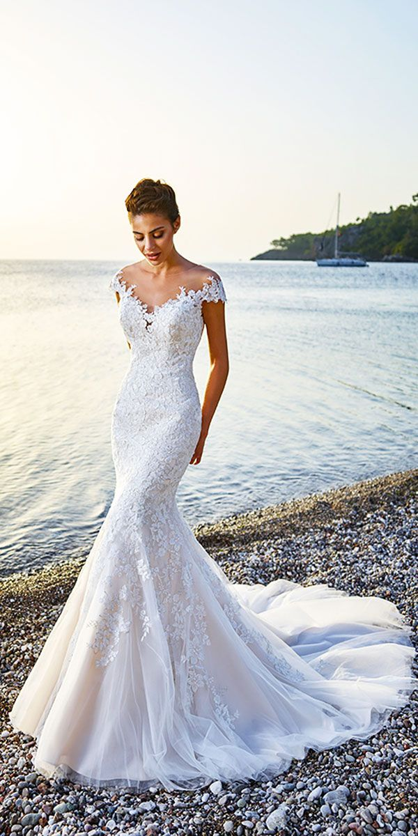 Eddy K Wedding Dresses And#8211; 2018 Bridal Collection ❤ See more: http://www.weddingforward.com/eddy-k-wedding-dresses/ #weddings