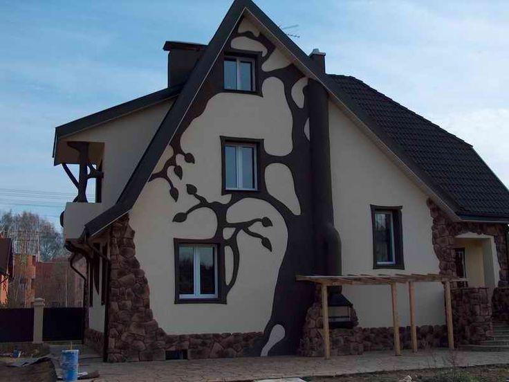 фасады дома в английском стиле фото