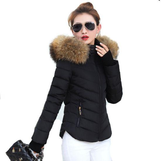 veste courte hiver femme capuche fourrure