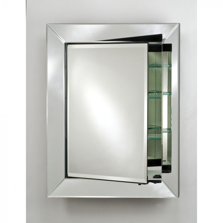 afina radiance recessed medicine cabinet with free magnifying mirror sdradc surface mount