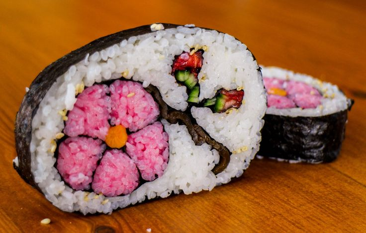 Wonderful and creative sushi art here. To make your own amazing sushi like this at home, visit Saitaku online.
