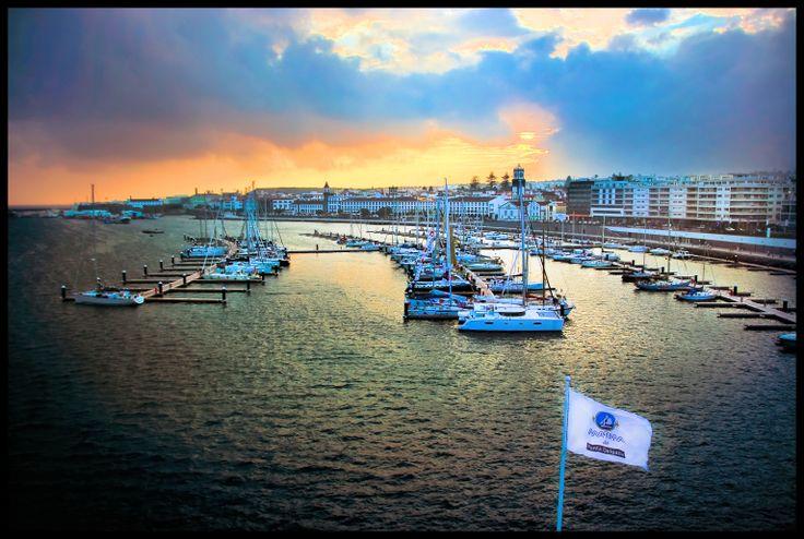 Marina of Ponta Delgada