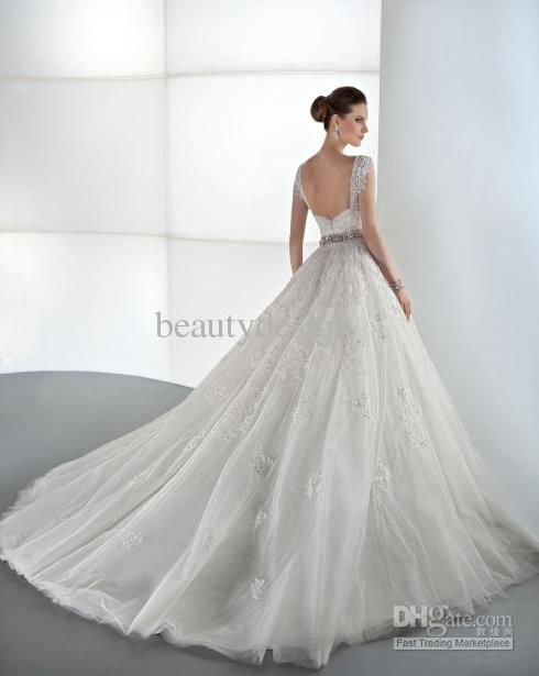 a line ball gown wedding dresses with sleeves - Google Search