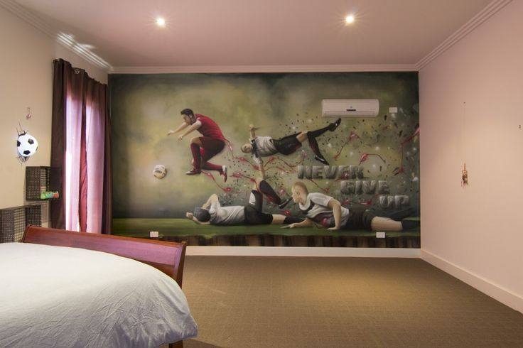 C. Ronaldo Graffiti Kids Room  #dubiz #custom #interior #mural #spraypaint #aerosol #wall #setitoffdecor #setitoff #sio #graffitiartistmelbourne #graffitimural #graffiti #art #wallart #streetart #graffiti #artistic #design #landscape #urbanart #urbandesign #interiordesign #interiors #homefashion #accessories #design #christianoronaldo #kidsbedroom #bedroom #bedroomideas #ideas