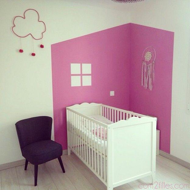 Peinture id e d co pour chambre d 39 enfant valentines for Chambre gender