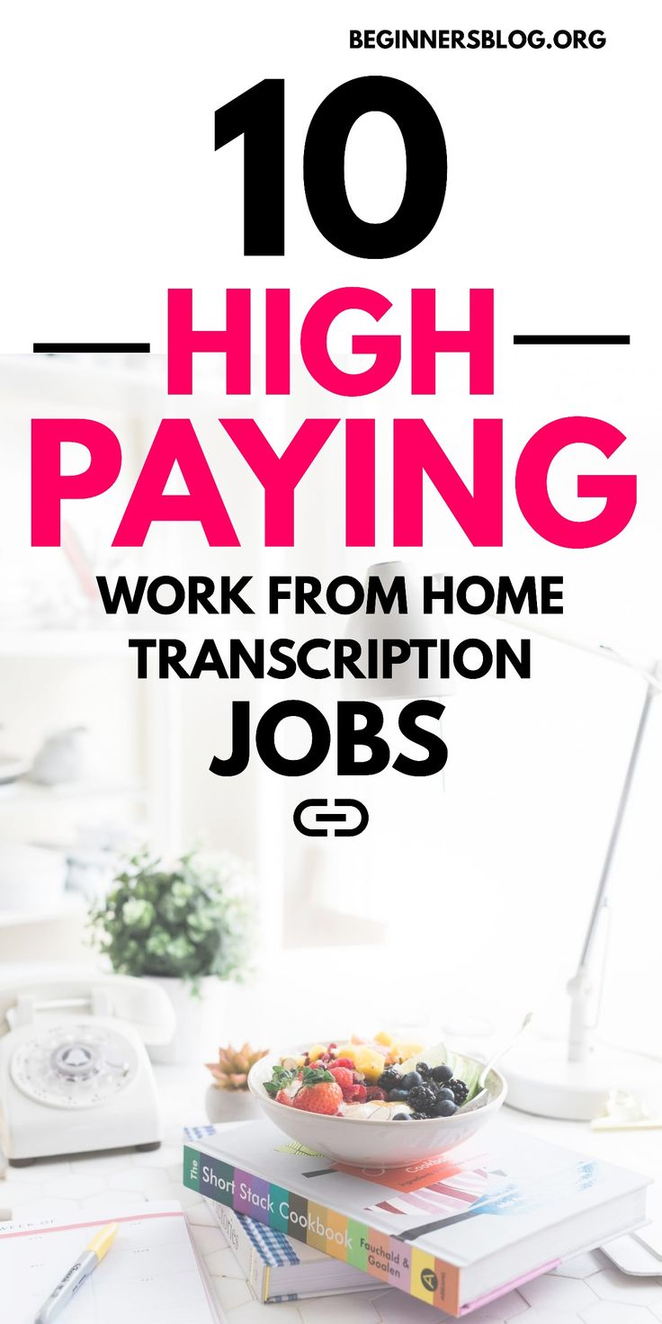 10 High Paying Work From Home Transcription Jobs For