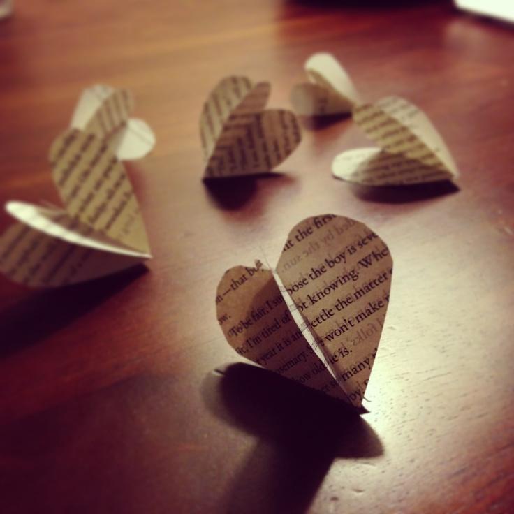Book Paper Crafts
