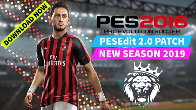 Pes 2016 Pesedit V2 0 New Season Patch 2019 Released 22 09 2018 Features Update All Leagues For Season 2018 Patches Uefa Champions League Seasons