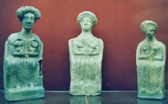 Кельтские Богини-матери. Галло-римский период, Сан-Жермэн-ан-Ле, Франция