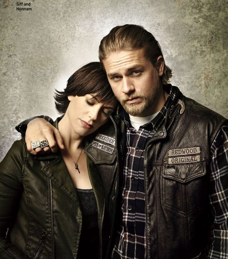 Charlie Hunnam and Maggie Siff #SOAFX | SOA in the Press ...