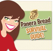 Hungry Girl's NEW Panera Bread Survival Guide.  PIN and don't leave home without it!