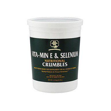 Farnam Vitamin E and Selenium Crumbles Pet Nutritional Horses Supplement 2.5lbs