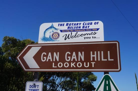 Gan Gan Lookout. Must see views over Port Stephens NSW.