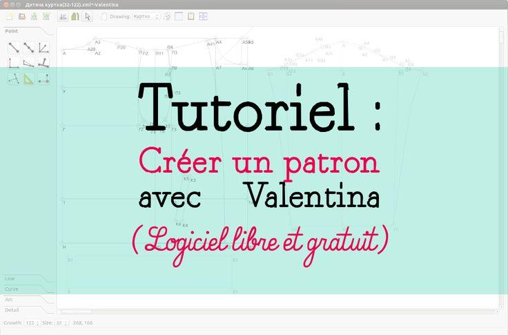 Tutoriel : Comment créer un patron avec Valentina, logiciel de patronage open-source - Part 1