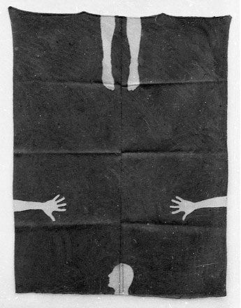 Antony Gormley, 'Blanket Drawings'