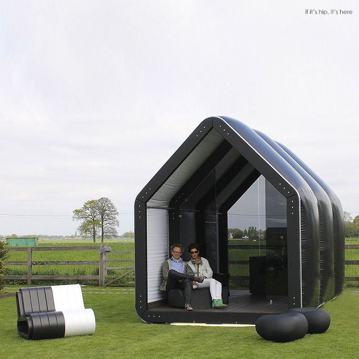 Inflatable Pods Pop Up For Commercial and Residential Use: AirClad