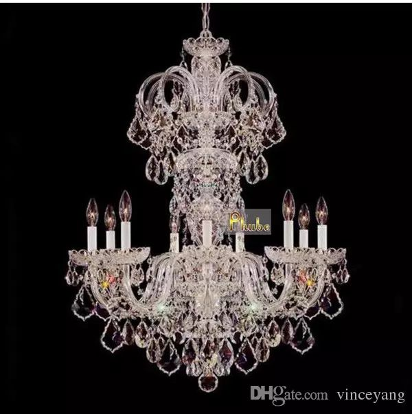 European Luxury Crystal Chandelier Light Penthouse Staircase Chandelier Restaurant Chandelier Lighting 8 Head European Luxury Crystal Chandelier Penthouse Staircase Chandelier Villa Chandelier Lighting Online with $584.38/Piece on Vinceyang's Store | DHgate.com