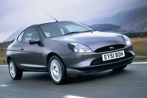 The Ford Puma was a small sports coupe produced between 1997-2001. Based on the Mk4 Ford Fiesta, it ... - Ford