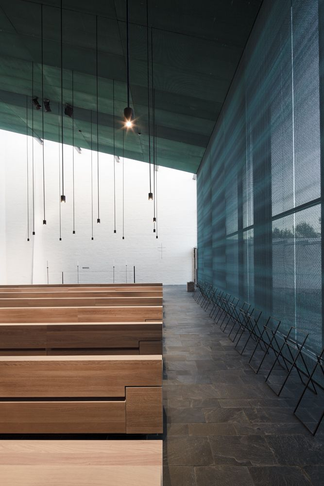 255 best images about architecture sacred on pinterest - Modern funeral home interior design ...