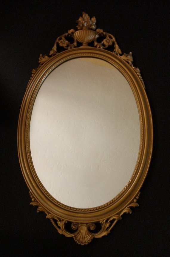 Vintage Syroco Decorative Framed Mirror 1960s 1970s