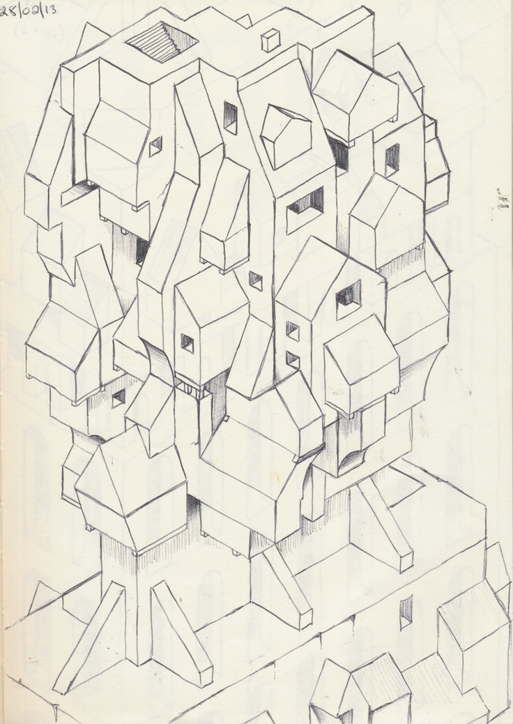 145 best isometric drawing images on Pinterest | Technical drawings ...