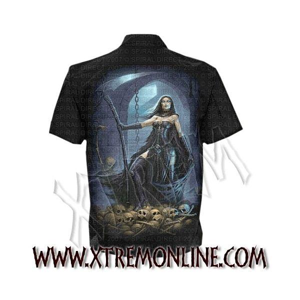 Camisa de manga corta Reapers Bride. Spiral Direct.