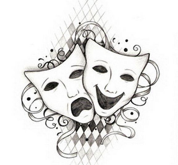 Drama Masks | drama masks